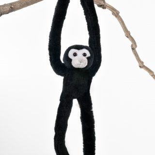 Animal Clinger Black Gibbon monkey