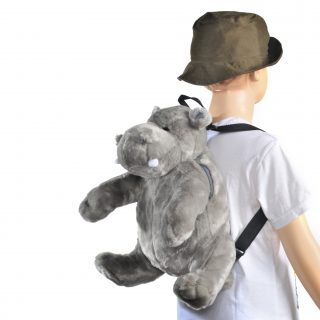Backpack Animal 16,5 Hippo