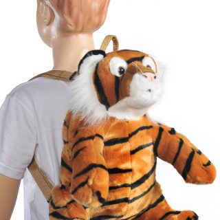 Backpack Animal 16,5 Tiger brown