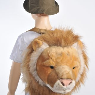 Backpack Round Lion 17.