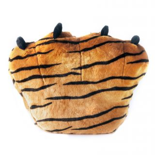 Cushion Telapak Kaki brown tiger a.