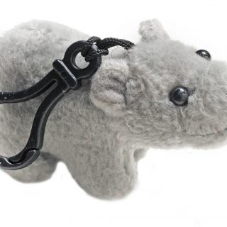 Key Ring 3,5 Animal Hippo