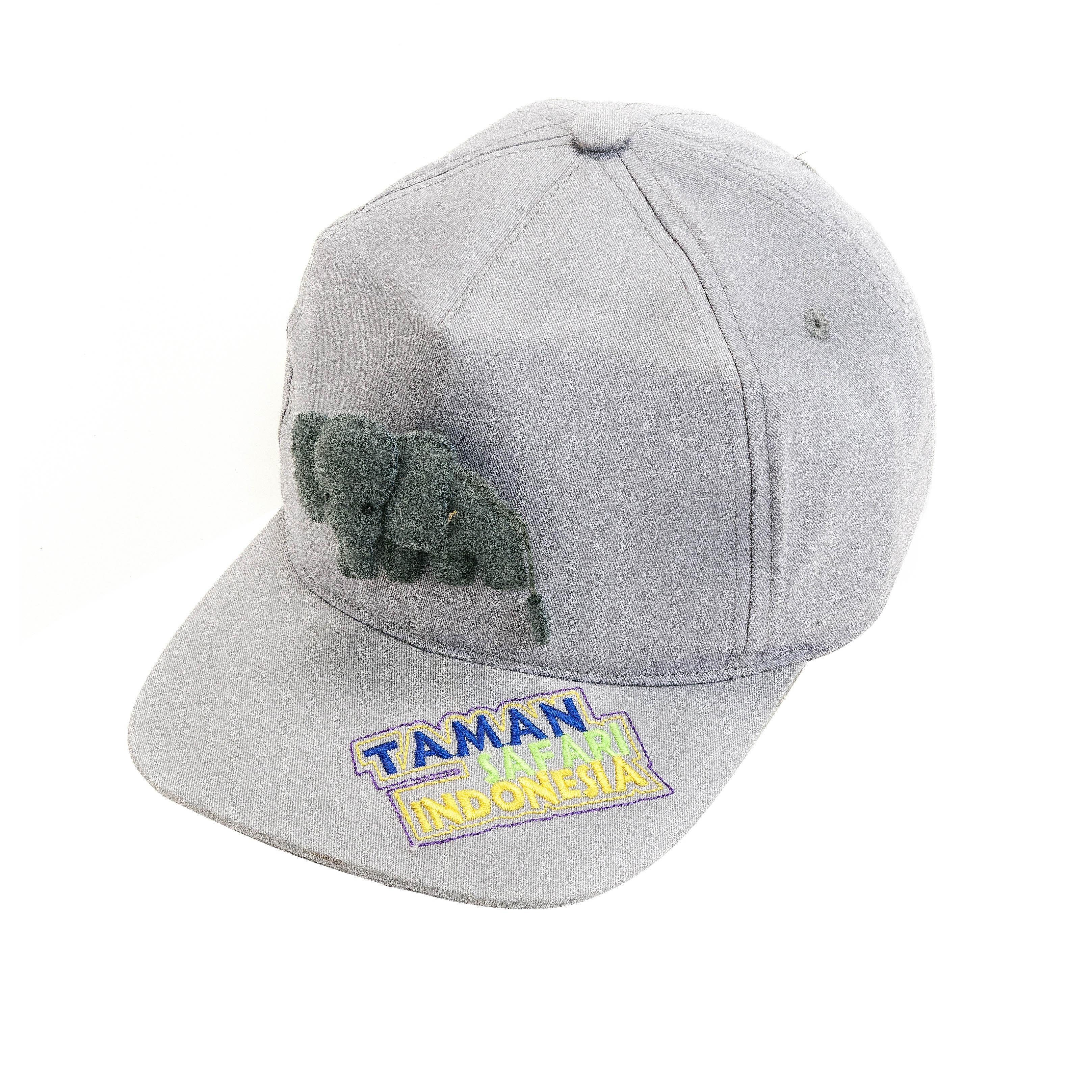 Topi cap anak Elephant felt