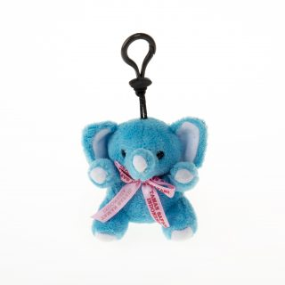 39. Elephant Keychain with a Printed Ribbon_DSC7821