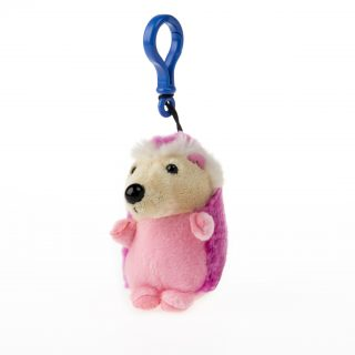 Hedgehog Keyring in Assorted Colors