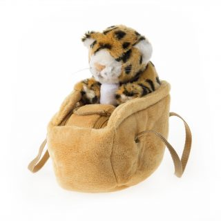 Baby Cheetah in a Bag