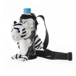 White Tiger Water Bottle Holder 6.5