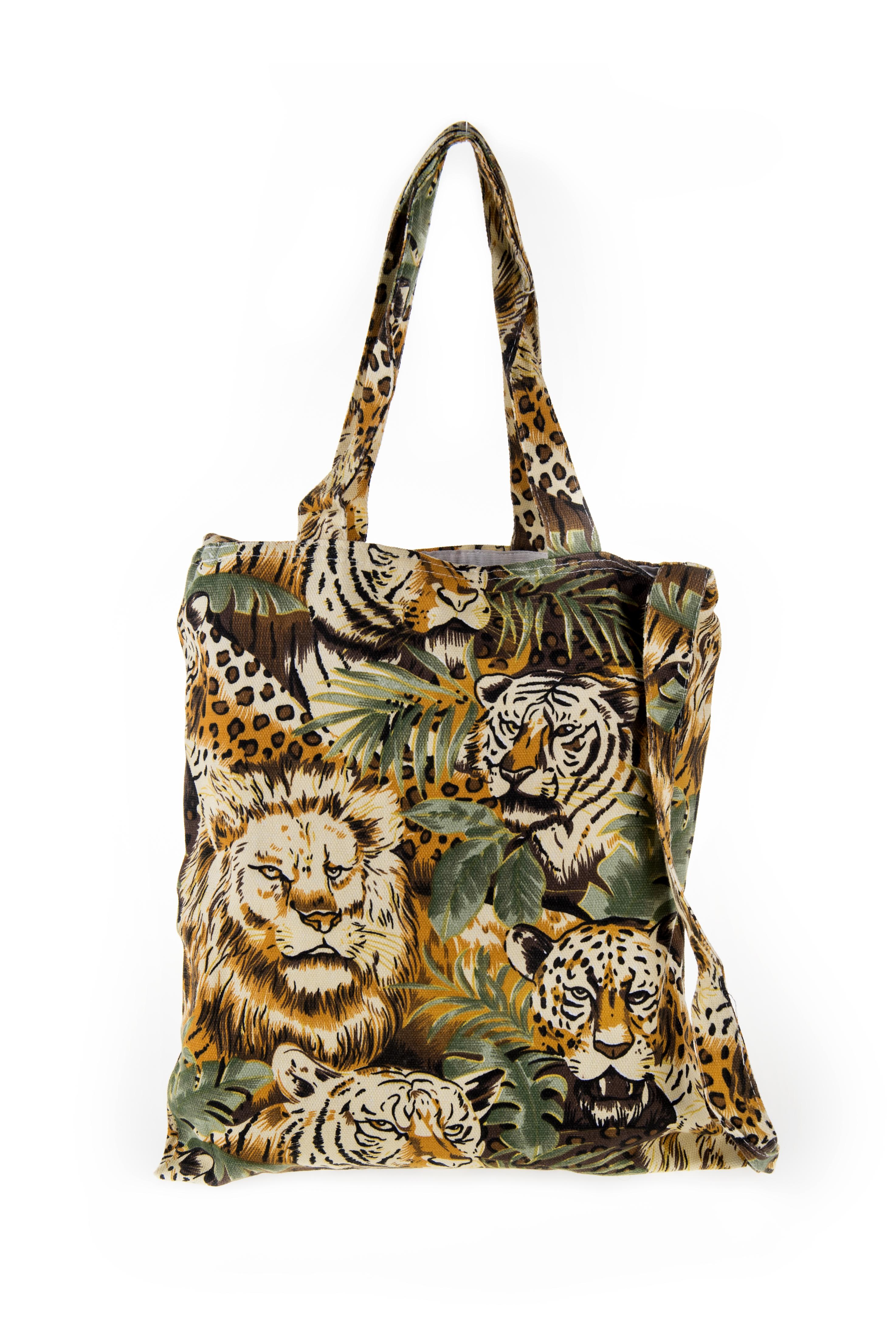 Animal Canvas Bag