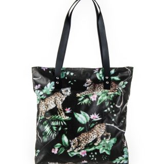 Cheetah Medium Canvas Bag Print 7