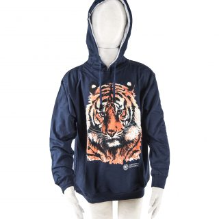 Children's Face of Tiger Sweatshirt L