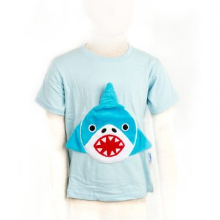 Children Blue Shark Tshirt S