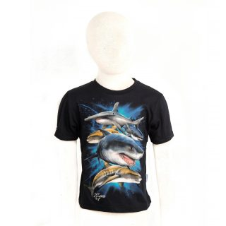 13. Children Group of sharks Tshit XS