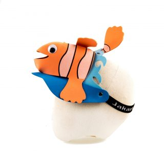 Clown fish foam hat