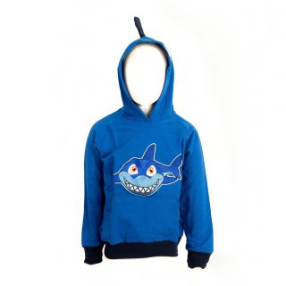 Kid Shark Sweatshirt with fin S