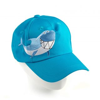 Kid Smiling Shark cap