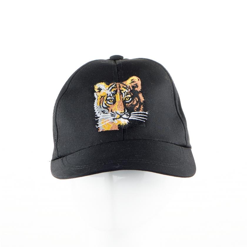 12. Topi Bordir Harimau dewasa