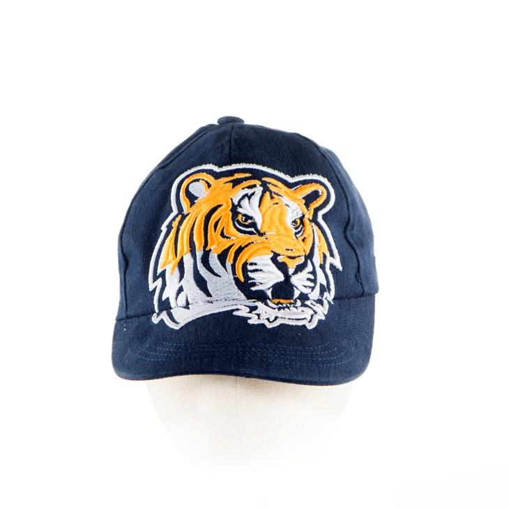 14. Topi bordir timbul tiger face navy blue