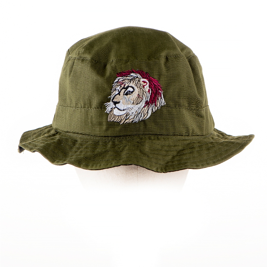 33. Topi full face Tiger hijau Army