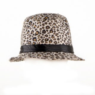 35. Fedora hat with animal motif