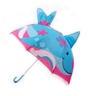 Girls shark umbrella